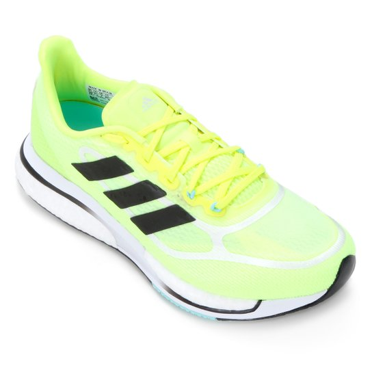 Tênis Adidas Supernova + Boost Masculino - Amarelo+Preto