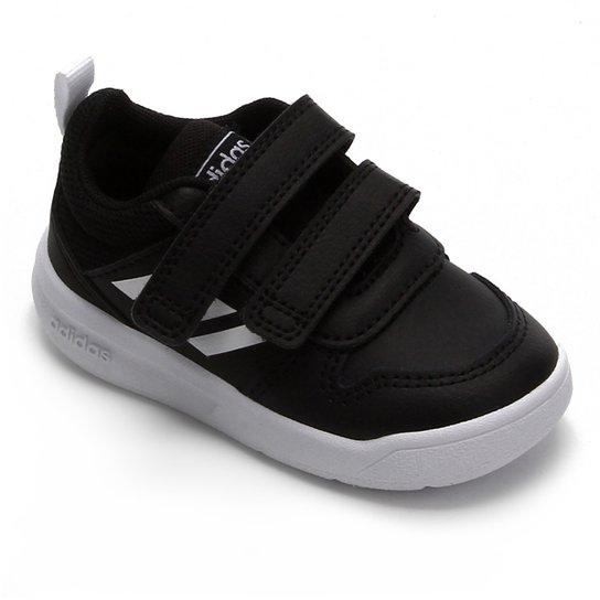 Tênis Adidas Vector Infantil - Preto+Branco