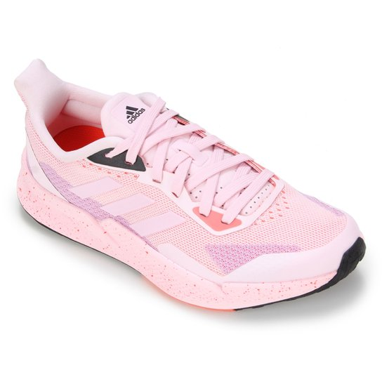 Tênis Adidas X9000 L2 Feminino - Rosa+Vermelho