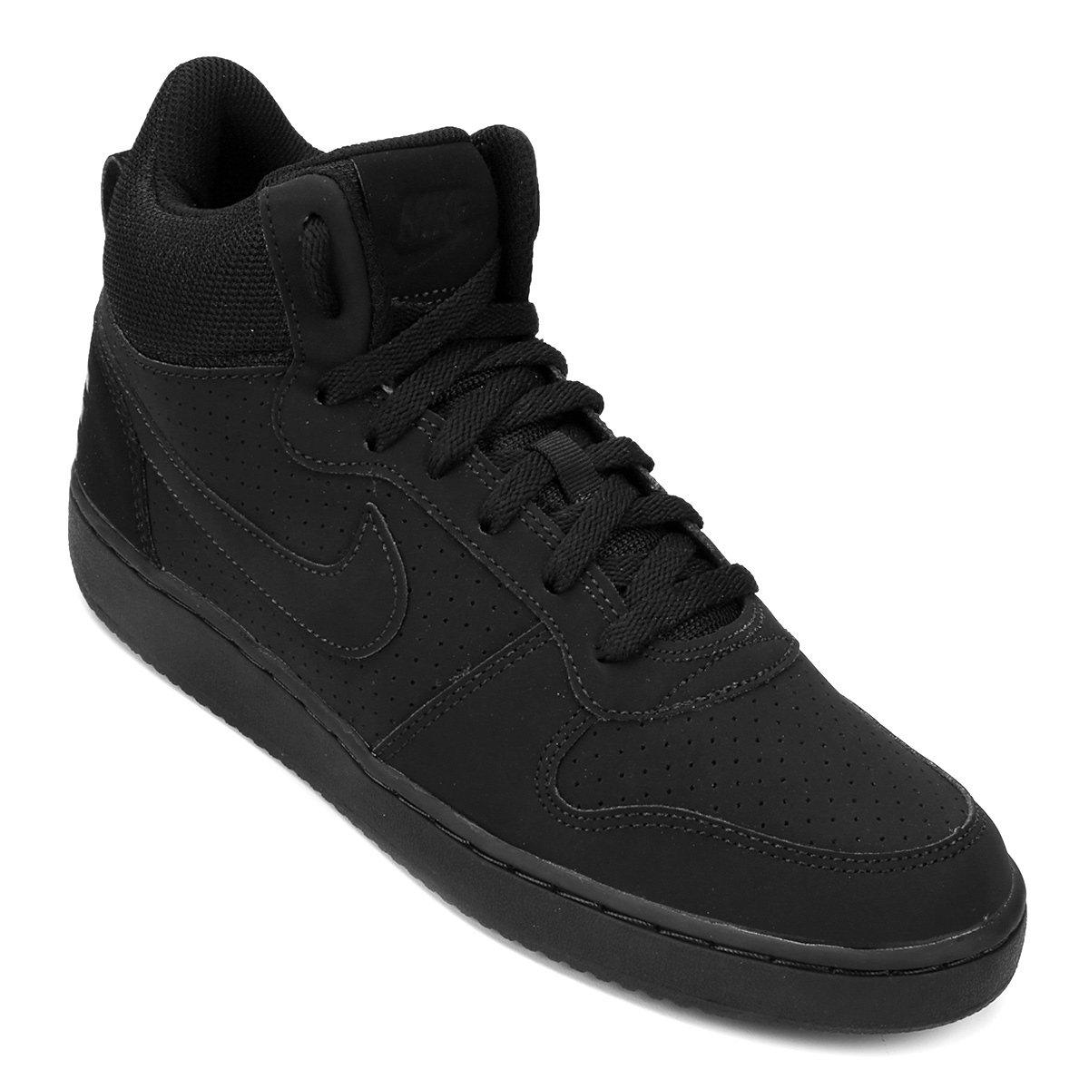 bb4079951b Tênis Couro Cano Alto Nike Recreation Mid Masculino