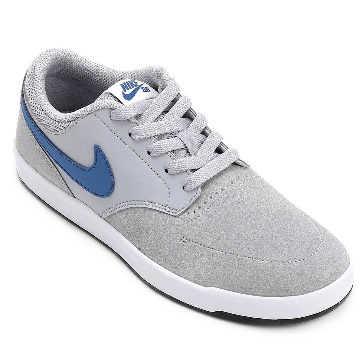 e13011a9adb7d Tênis Couro Nike SB Fokus Masculina - Compre Agora