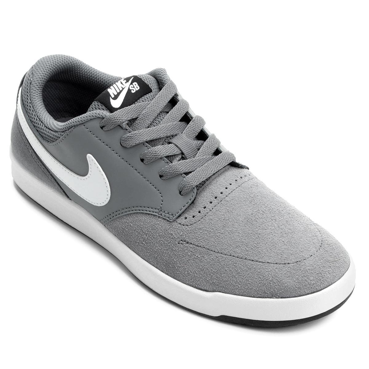 in stock bde25 ac52a Tênis Couro Nike SB Fokus Masculina   Loja do Inter