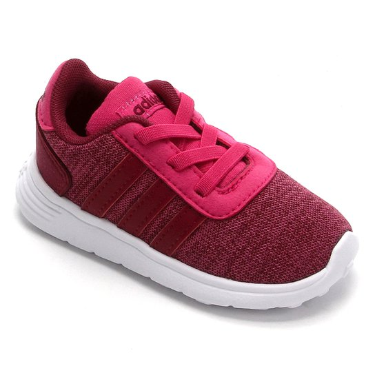 Tênis Infantil Adidas Lite Racer  - Rosa