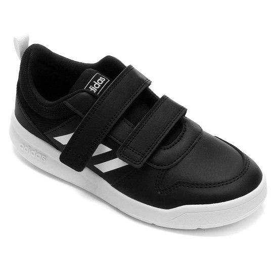 Tênis Infantil Adidas Tensaurus - Preto+Branco