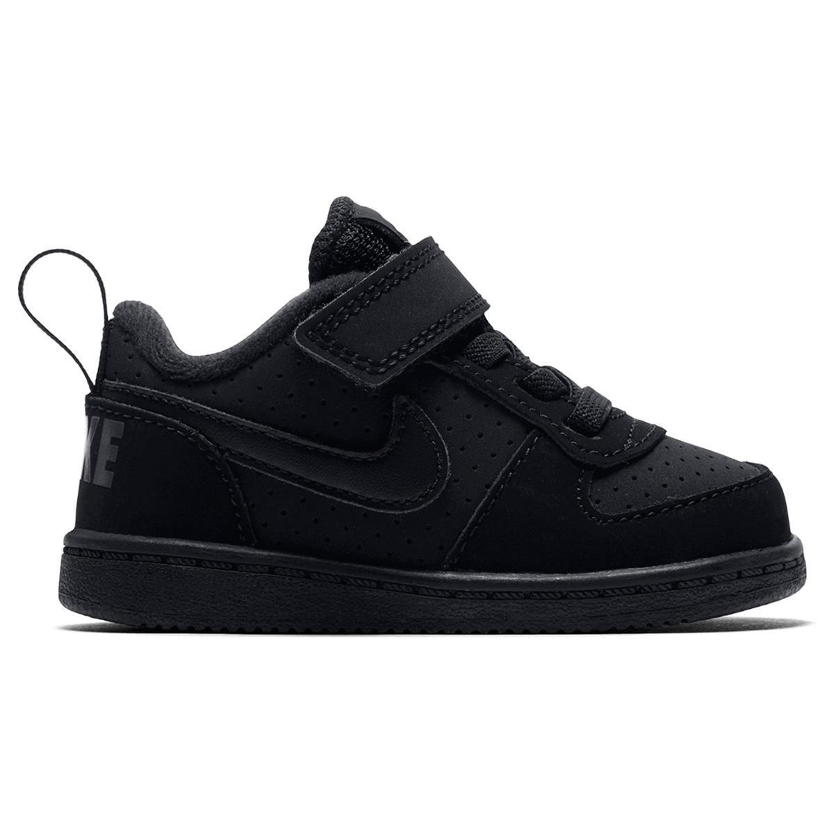 b29f5ec0052 Tênis Infantil Nike Court Borough Low Masculino - Preto - Compre Agora