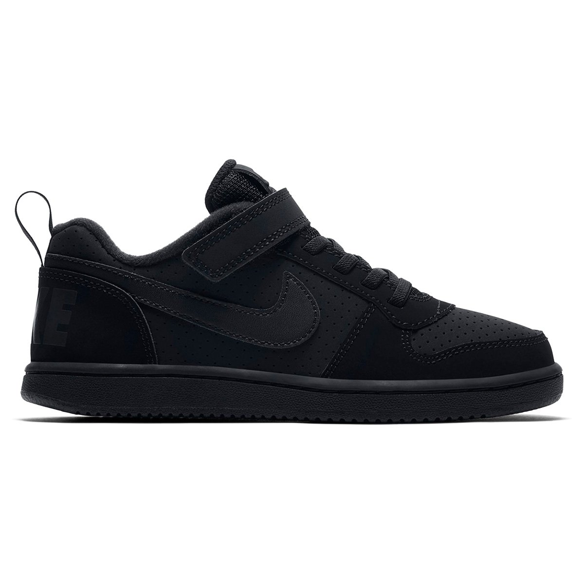 66f1d53b073 Tênis Infantil Nike Court Borough Low - Preto - Compre Agora