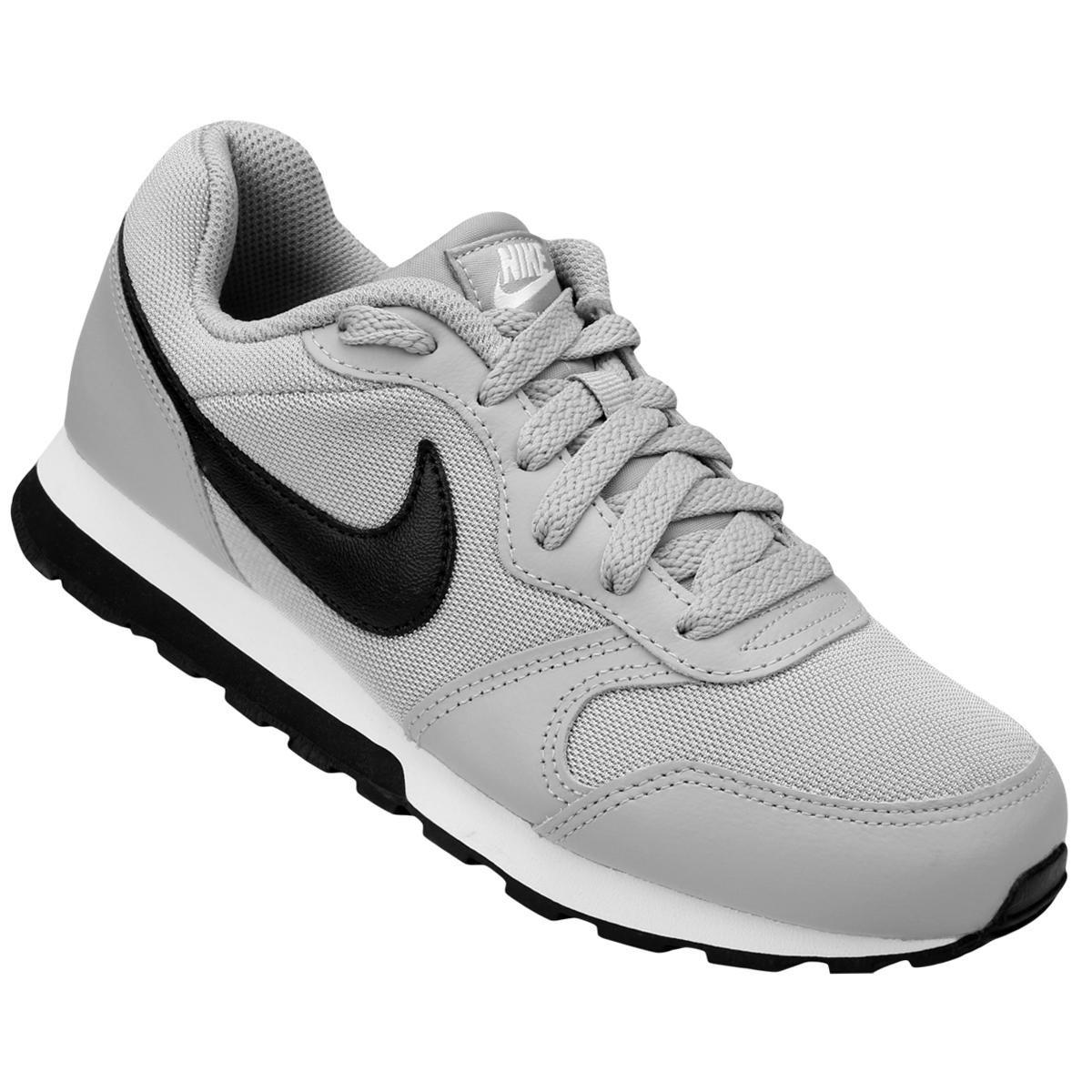 Tênis Infantil Nike Md Runner 2 - Cinza e Preto - Compre Agora ... 4448d2bca8081