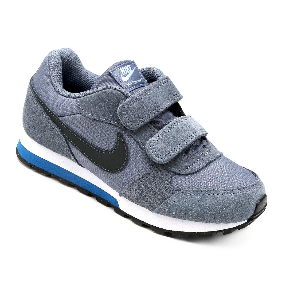 Tênis Infantil Nike Md Runner 2 - Azul Claro e Preto - Compre Agora ... fe22d5b61e2e7