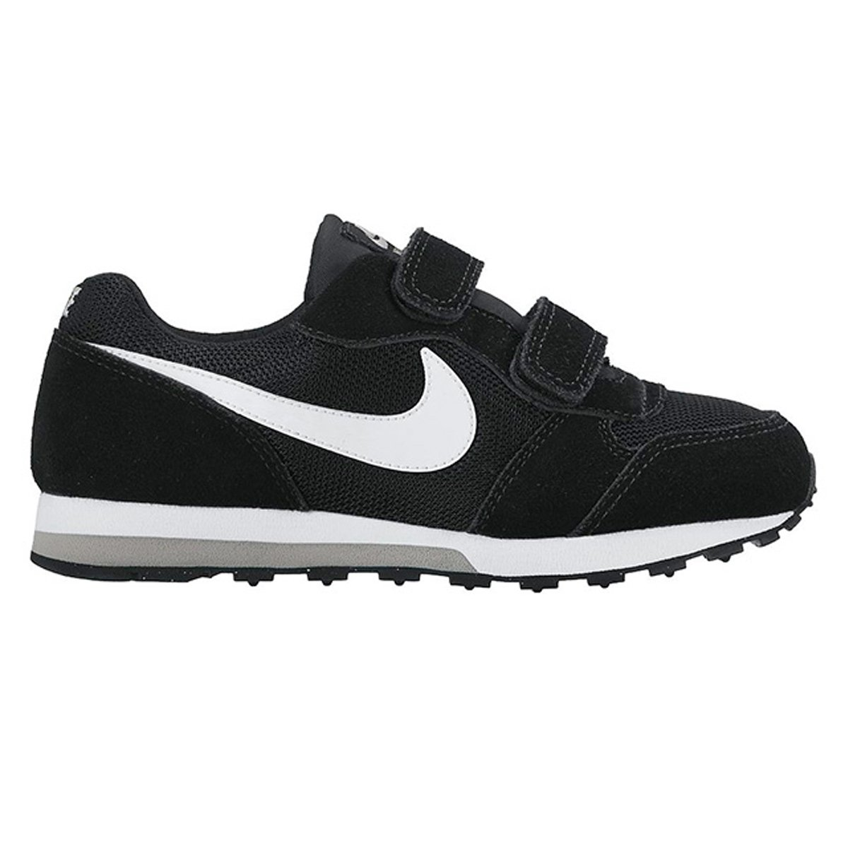 3238576368e33 Tênis Infantil Nike Md Runner 2 - Preto e Cinza - Compre Agora ...