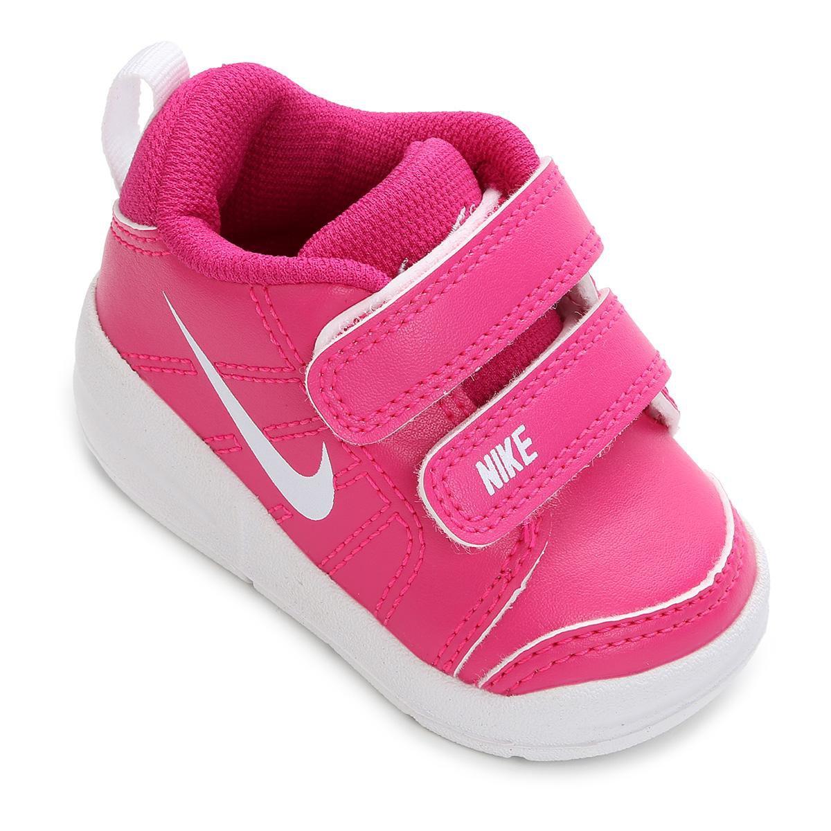 13f5e777eb7 Tênis Infantil Nike Pico Lt - Rosa e Branco - Compre Agora