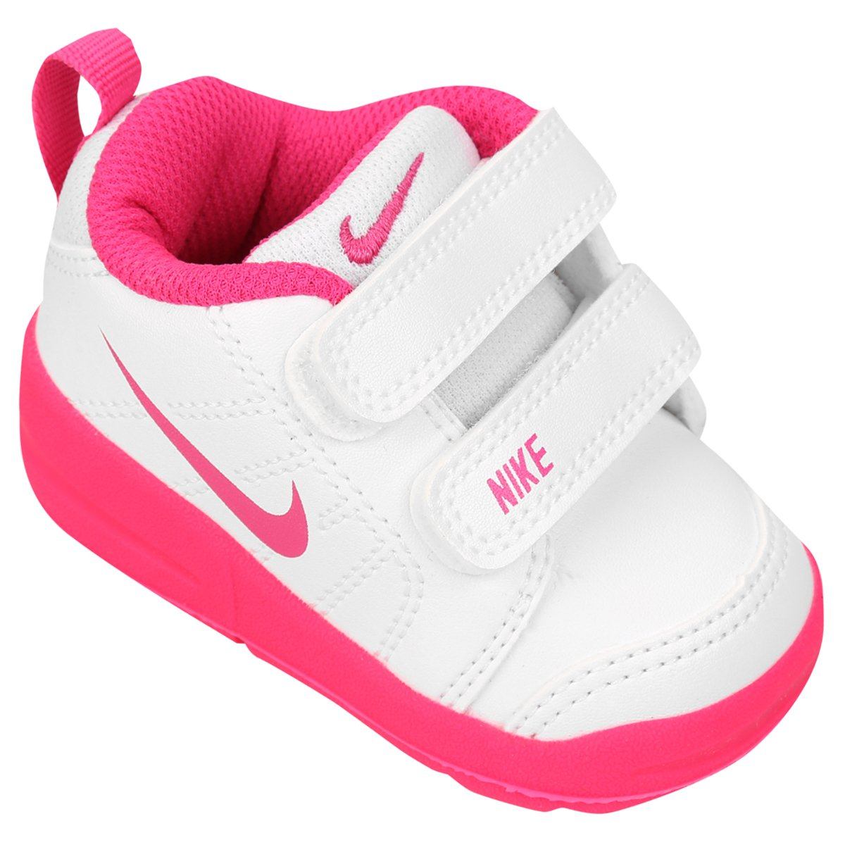 5d1f4978025 Tênis Infantil Nike Pico Lt - Branco e Pink - Compre Agora