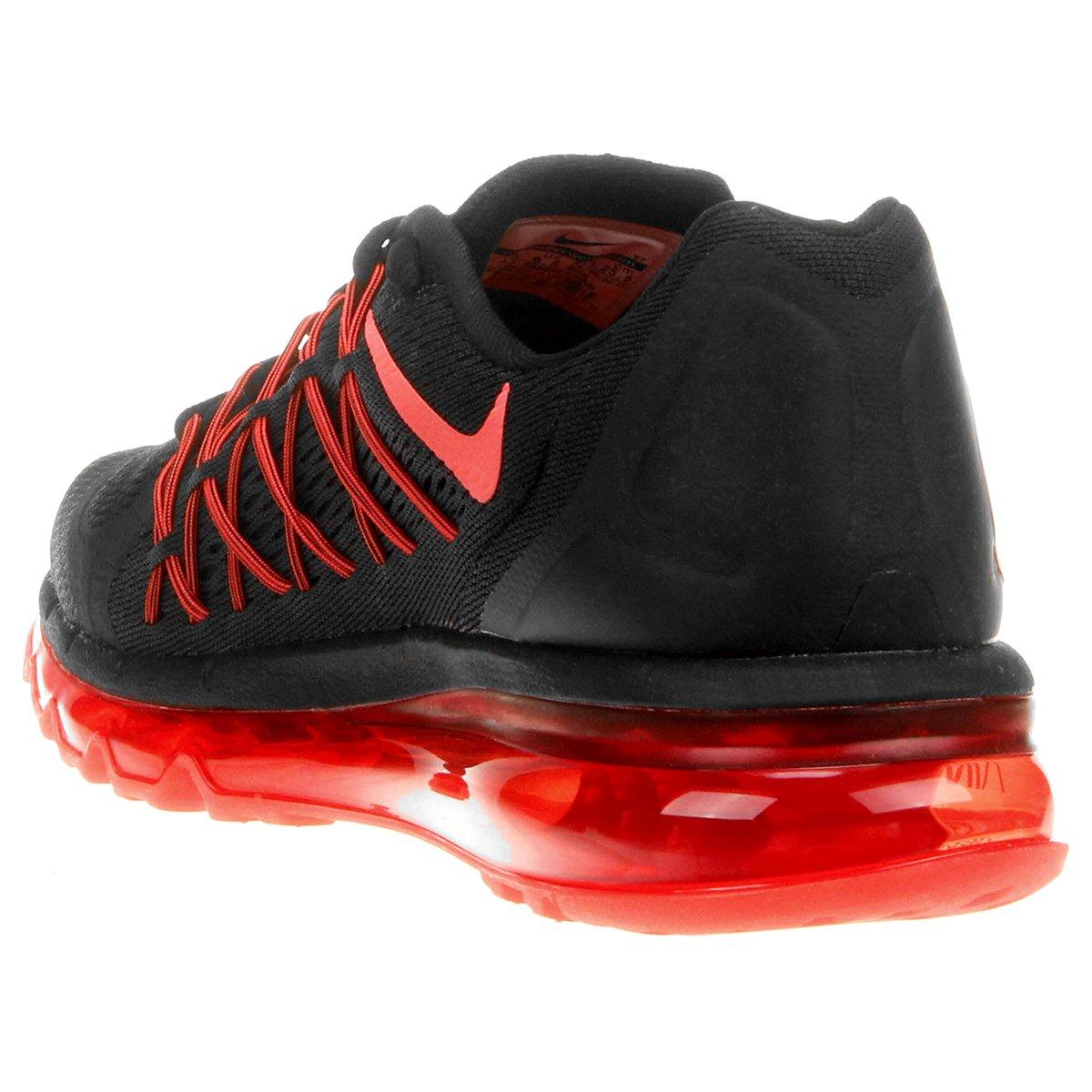8bffd6f8897 ... Tênis Nike Air Max 2015 Masculino - Vermelho e Preto ...