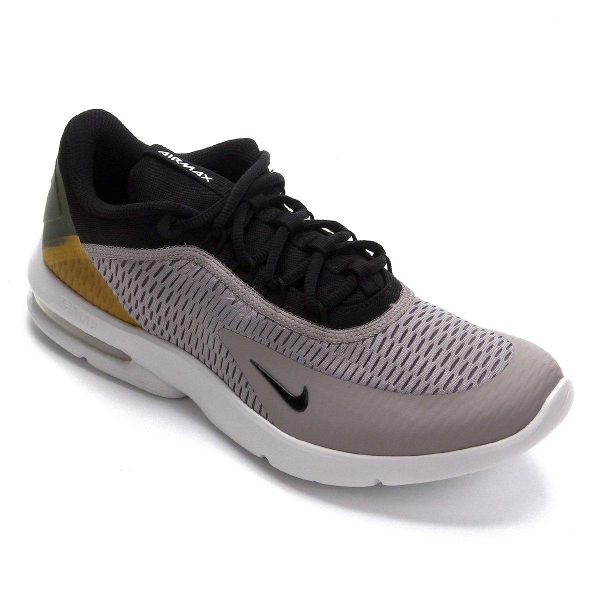 Tênis Nike Air Max Advantage 3 Masculino Preto e Dourado