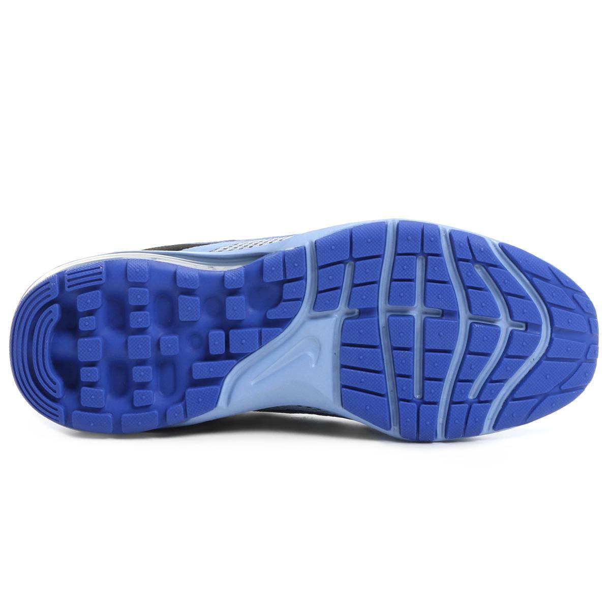 Tênis Nike Air Max Dynasty 2 Feminino - Preto e Azul - Compre Agora ... 66e7191d3fecc