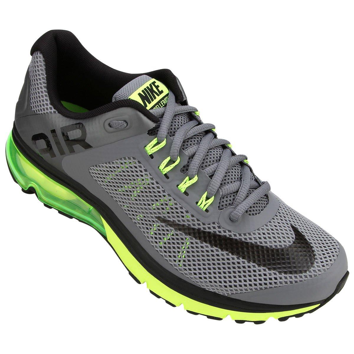 huge selection of 7e62f 8e166 ... Tênis Nike Air Max Excellerate+ 2 - Grafite e Verde Limão tenis  masculino ...