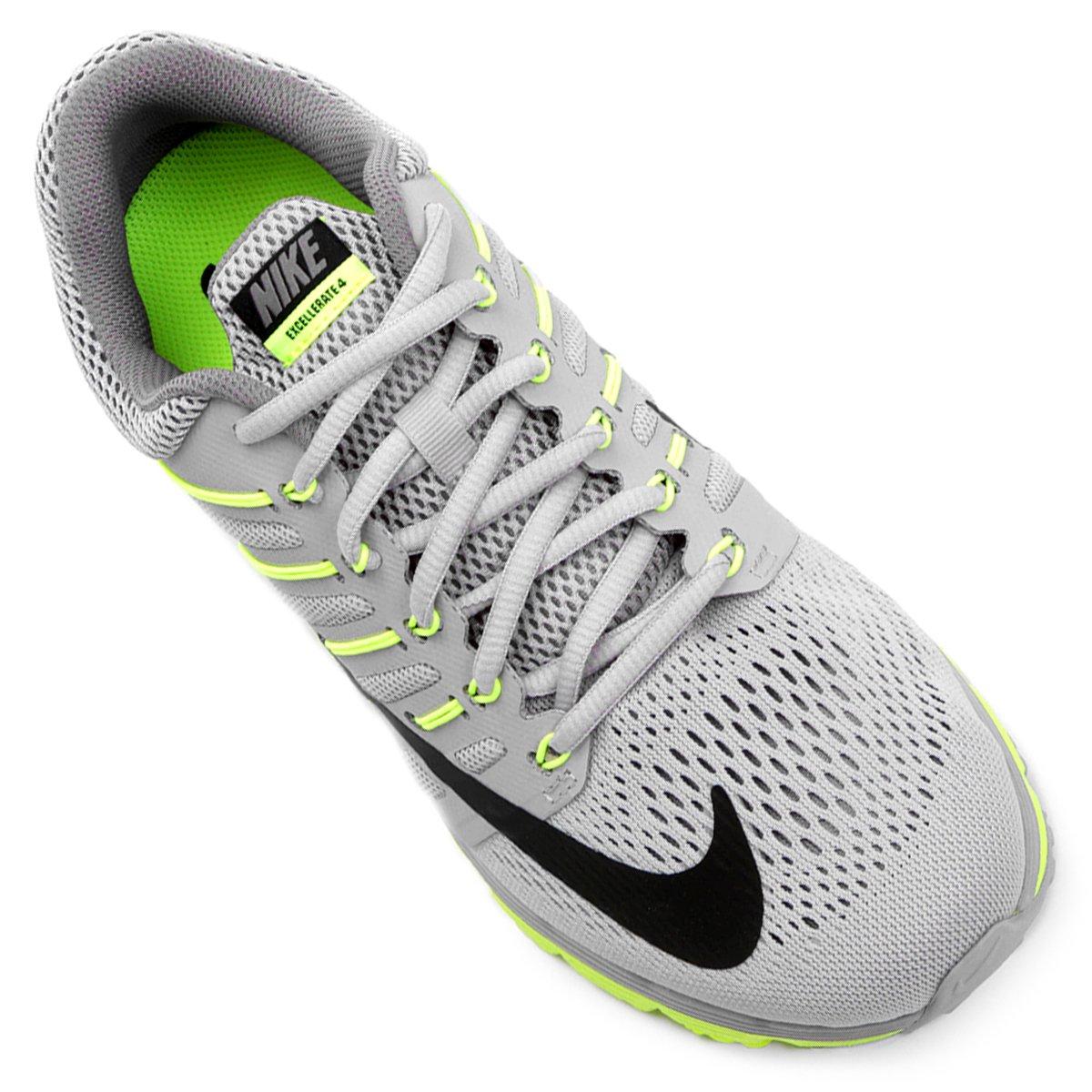 a19d613963b ... new zealand flywire feminino tênis nike air max excellerate 4 feminino  cinza e verde li tenis ...