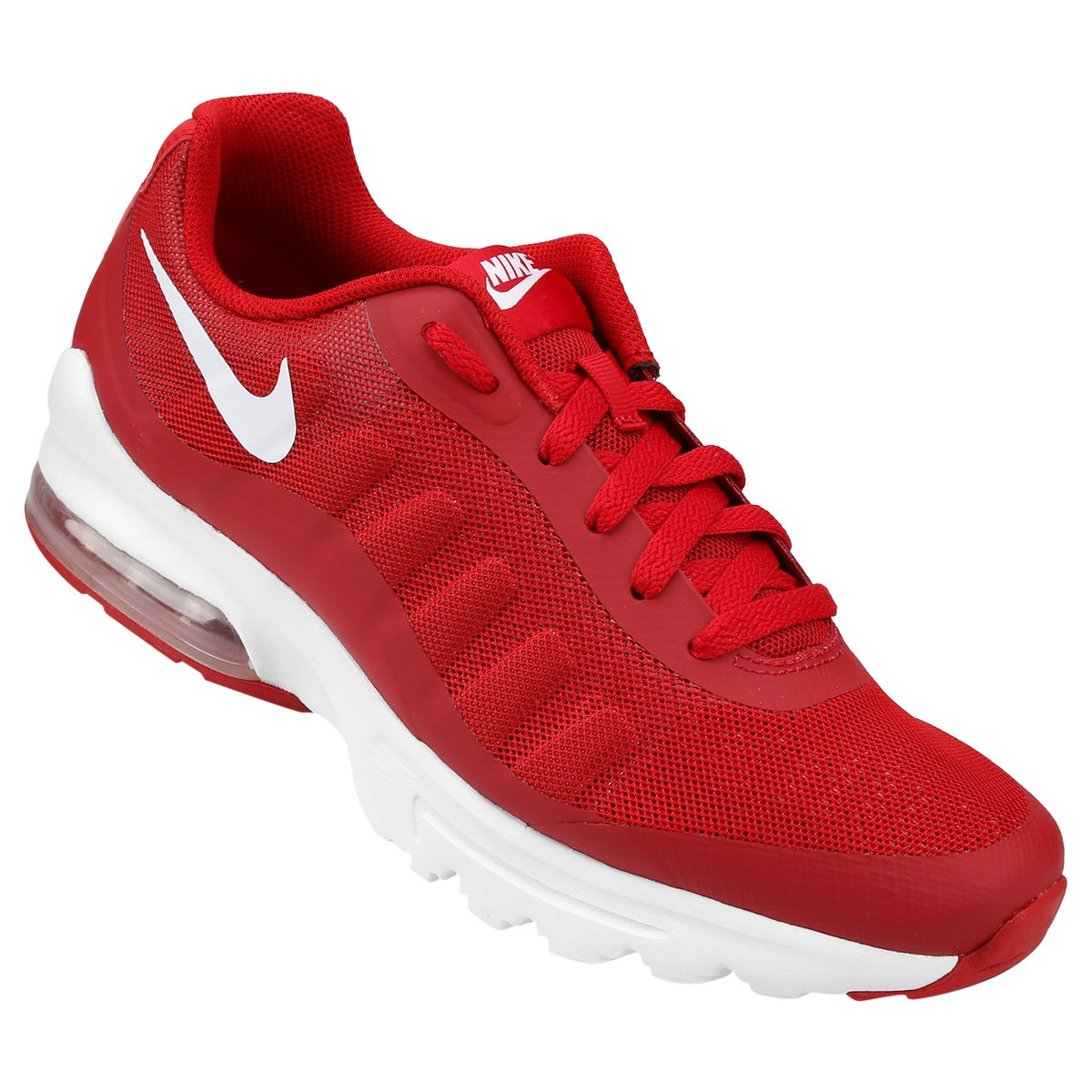 70fa355c47b Tênis Nike Air Max Invigor Masculino - Vermelho e Branco - Compre Agora