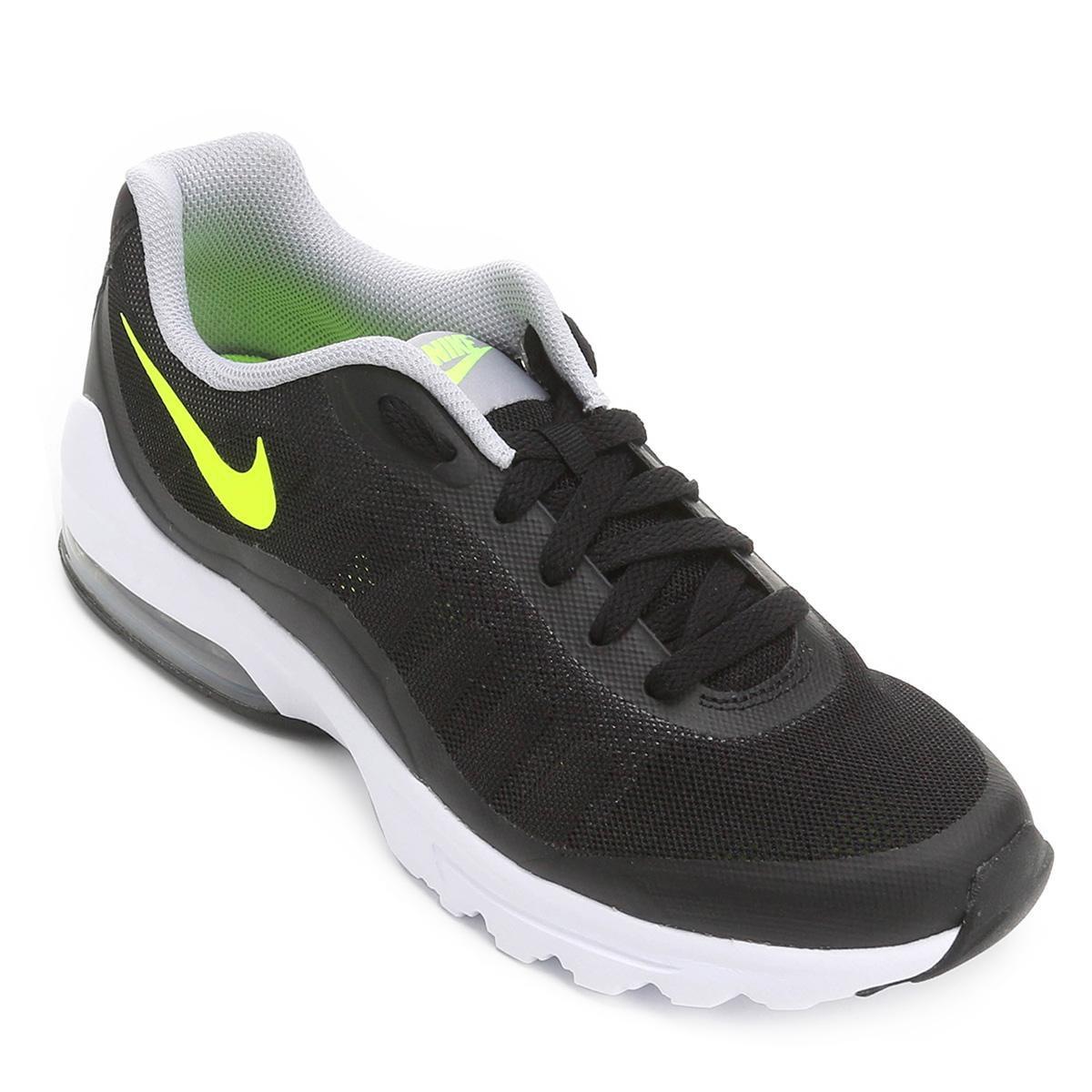 b4e531c3842 Tênis Nike Air Max Invigor Masculino - Preto e Cinza - Compre Agora ...