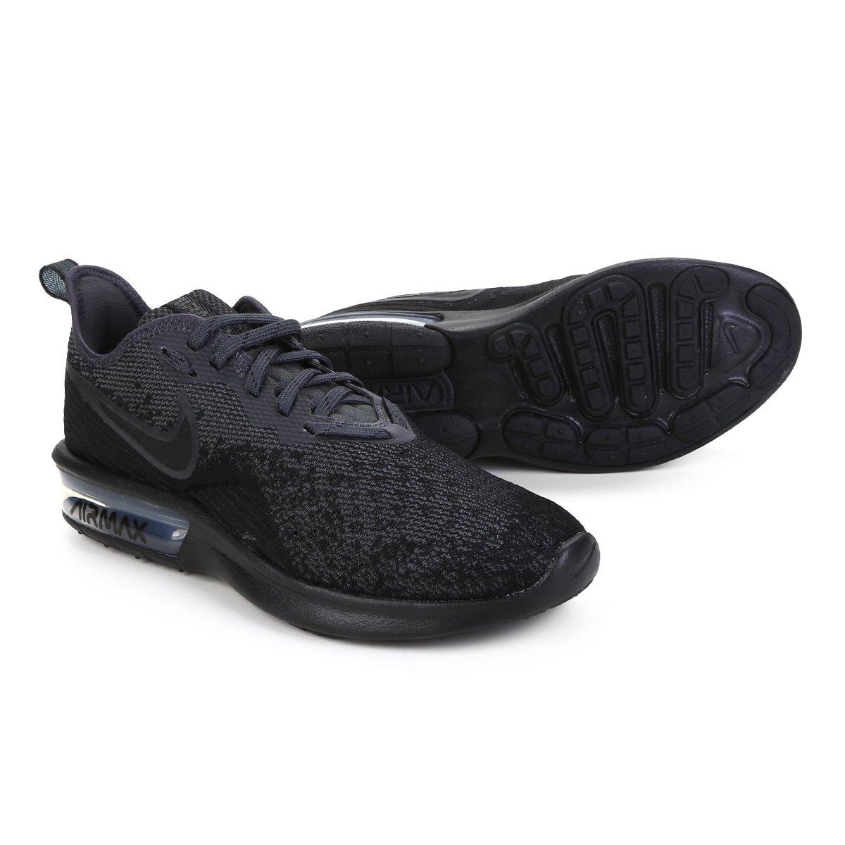 Tênis Nike Air Max Sequent 4 Feminino Preto