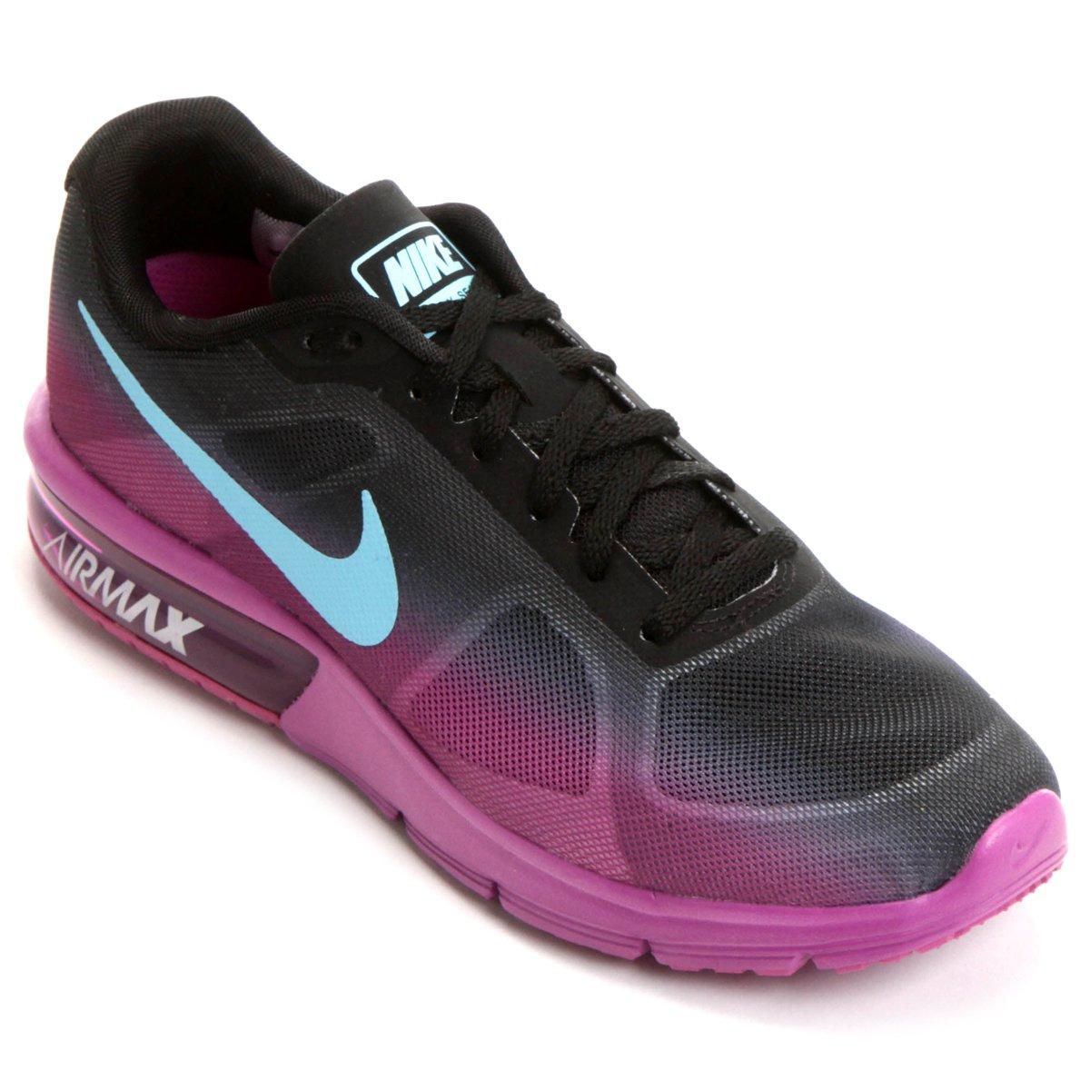 82c6cfcf747 Tênis Nike Air Max Sequent Feminino - Compre Agora