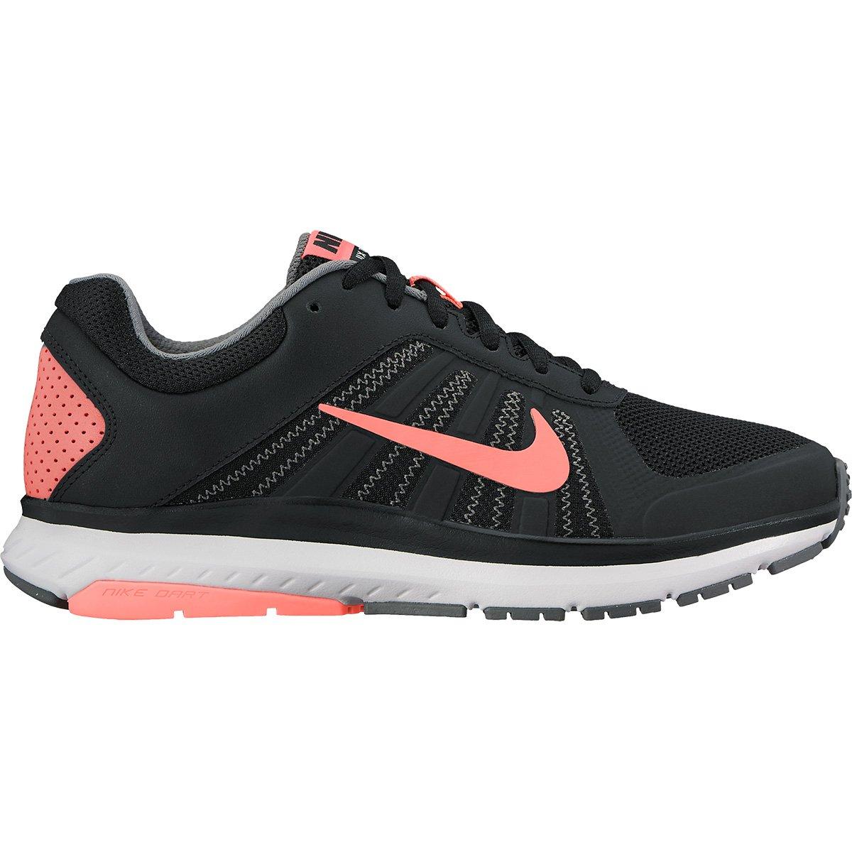 a2840d56ea1 Tênis Nike Dart 12 MSL Feminino - Preto e Salmão - Compre Agora ...