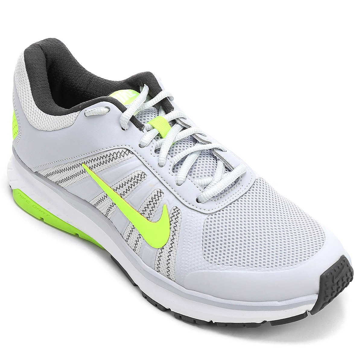 f6c096368542c Tênis Nike Dart 12 MSL Masculino - Branco e Verde - Compre Agora ...