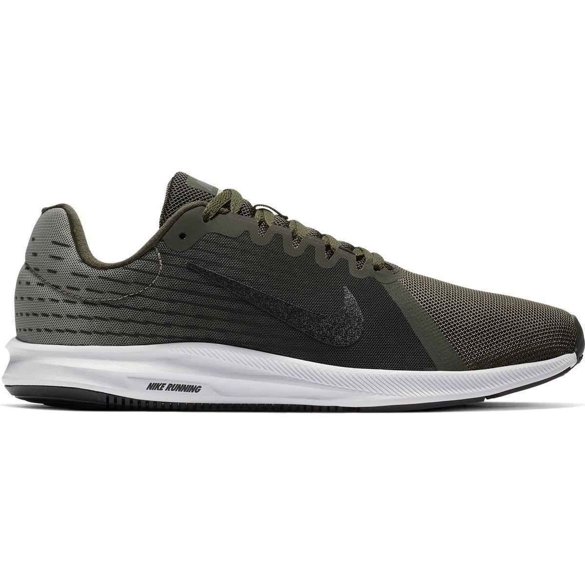 56f14c57814 Tênis Nike Downshifter 8 Masculino - Verde e Preto - Compre Agora ...