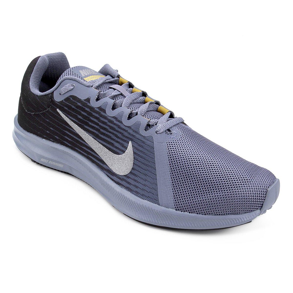 f38b17c76d Tênis Nike Downshifter 8 Masculino - Preto e Cinza - Compre Agora ...