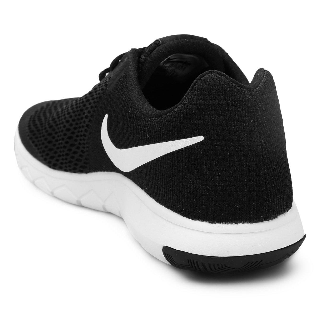 Tênis Nike Flex Experience Rn 6 Feminino - Preto e Branco - Compre ... e560845e85d77