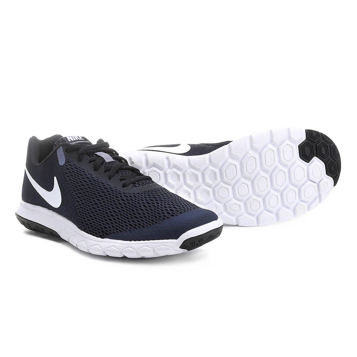 23d273ba704 Tênis Nike Flex Experience Rn 6 Masculino - Marinho e Branco - Compre Agora