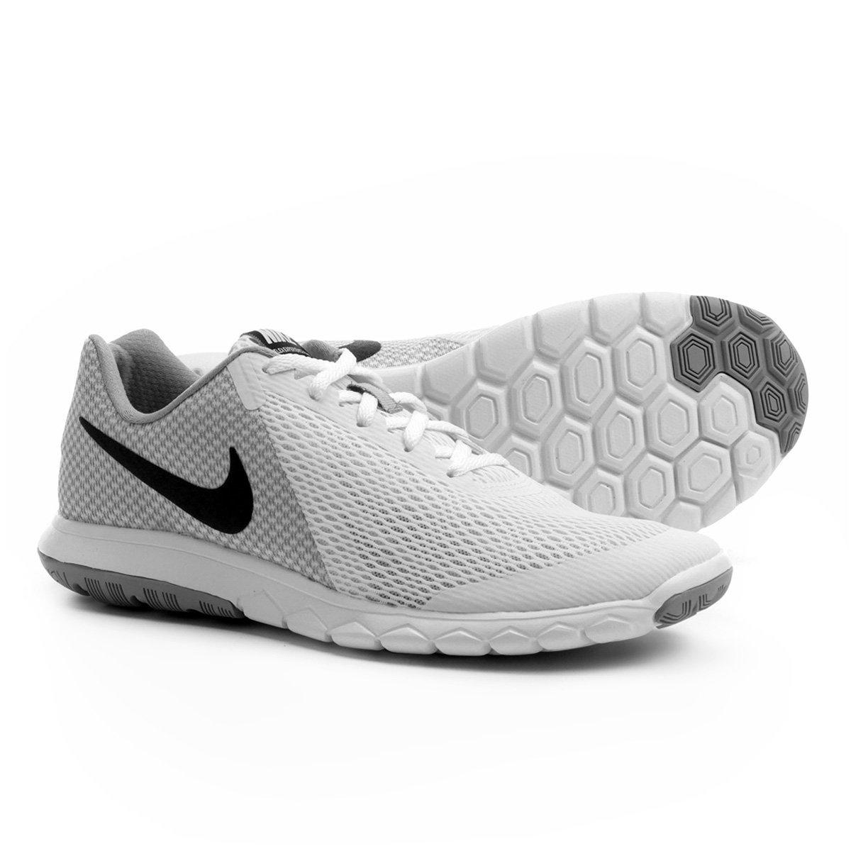 50355fe7b61 Tênis Nike Flex Experience Rn 6 Masculino - Branco e Cinza - Compre Agora
