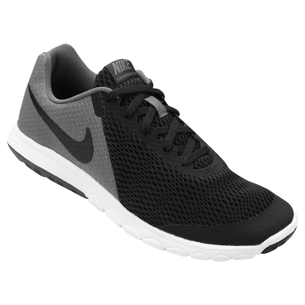 df75f8c5159 Tênis Nike Flex Experience Rn 6 Masculino - Preto e Cinza - Compre Agora