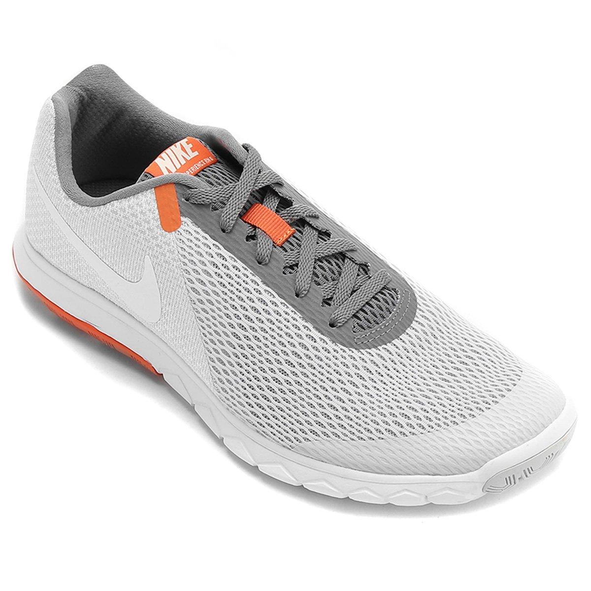 Tênis Nike Flex Experience Rn 6 Masculino - Cinza e Branco - Compre ... 62b01178ad264