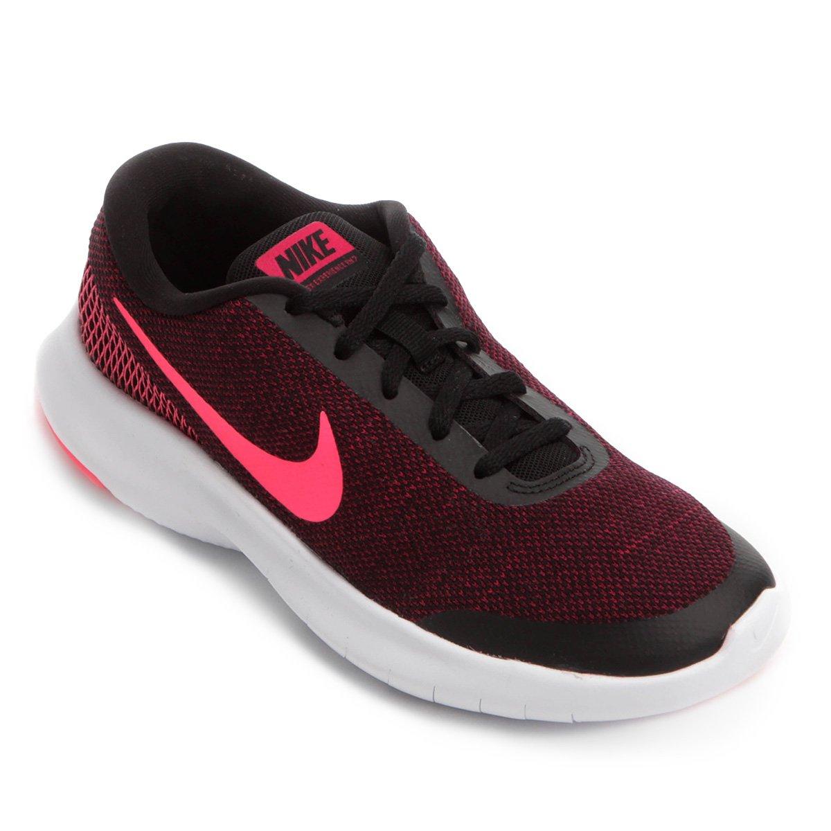 huge selection of 09836 e1e6a Tênis Nike Flex Experience RN 7 Feminino - Preto e Rosa - Compre Agora    Loja do Inter