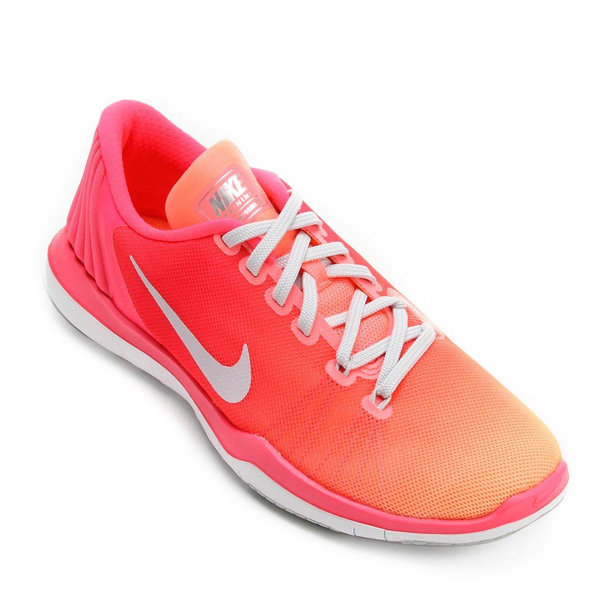 f719fae5aeb Tênis Nike Flex Supreme Tr 5 Fade Feminino - Compre Agora