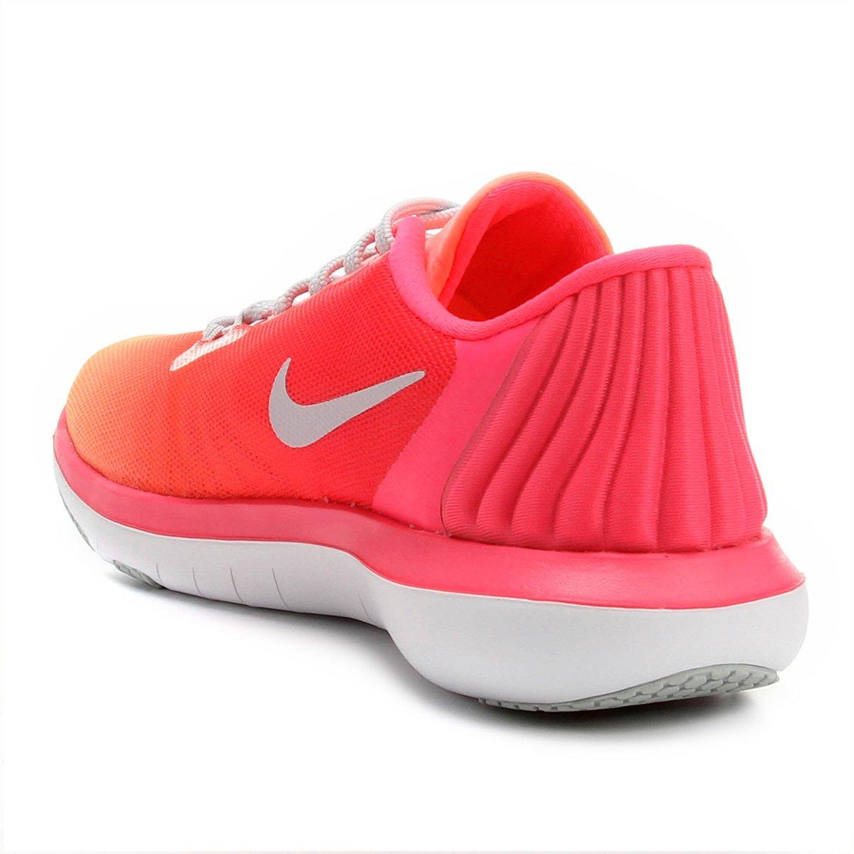 Tênis Nike Flex Supreme Tr 5 Fade Feminino - Rosa e Branco - Compre ... 2a604da623d4b