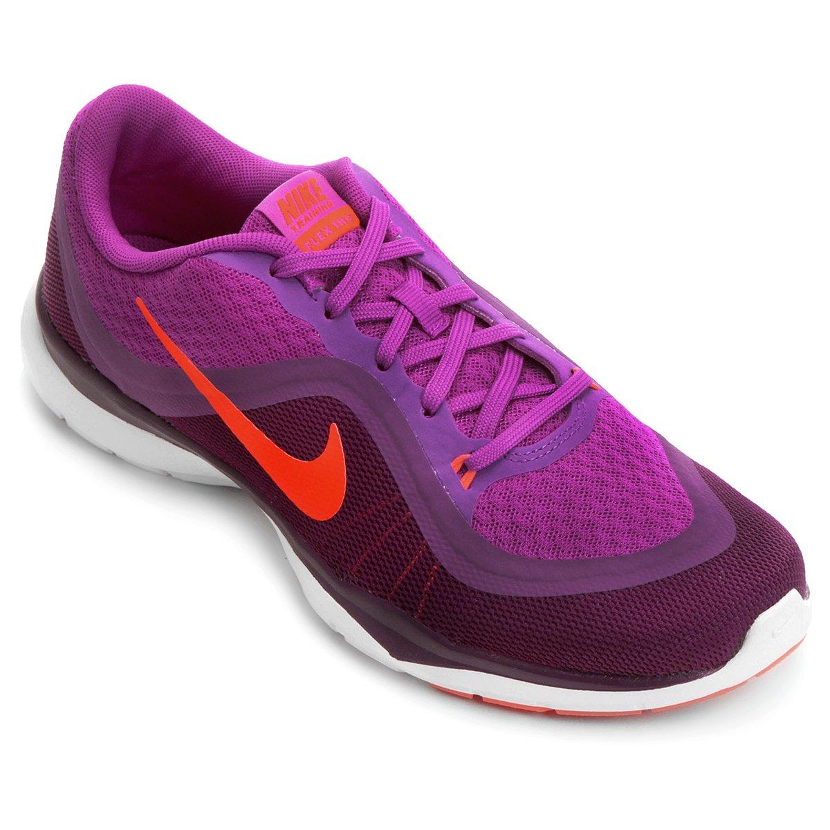 Tênis Nike Flex Trainer 6 Feminino - Violeta - Compre Agora  a16a30fc80dca
