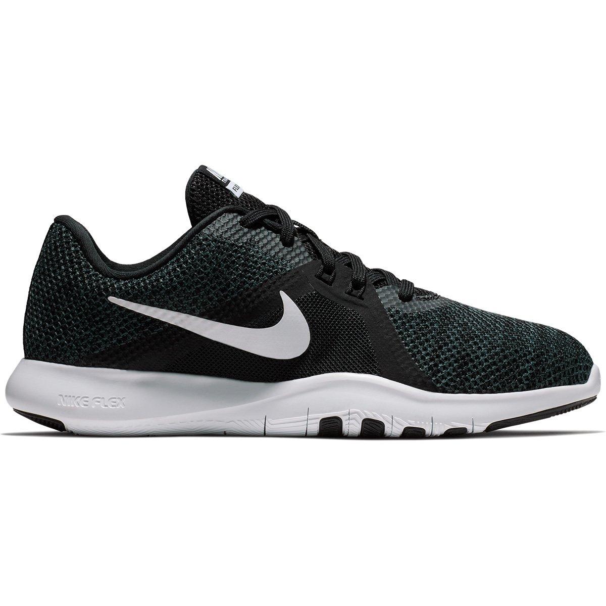 Tênis Nike Flex Trainer 8 Feminino - Preto e Branco | Loja do Inter