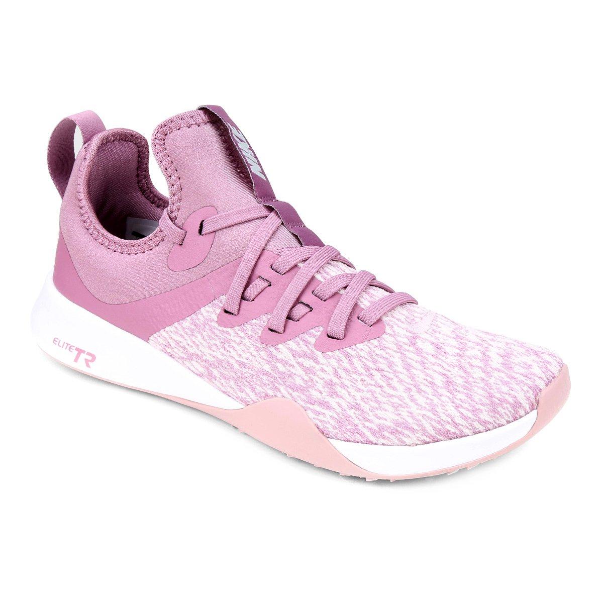 9d7685b3887 Tênis Nike Foundation Elite Tr Feminino - Rosa Claro - Compre Agora ...