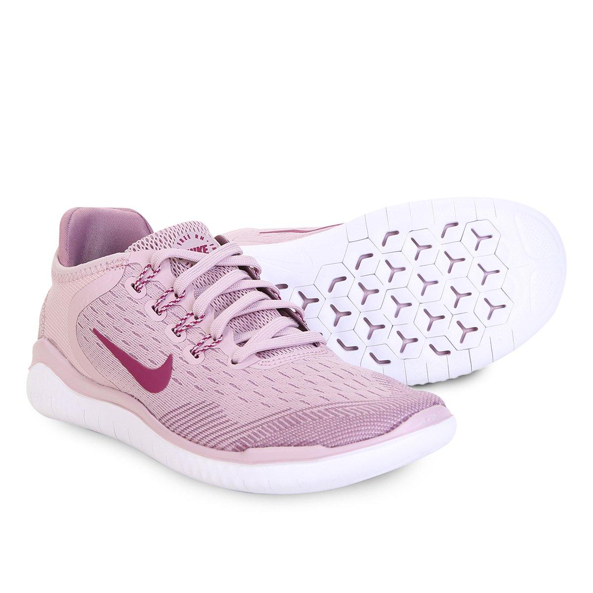 1e1c987bce3 Tênis Nike Free Rn 2018 Feminino - Rose Gold - Compre Agora