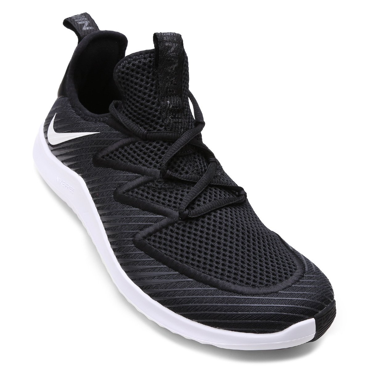 892c124a205 Tênis Nike Free Tr Ultra Masculino - Preto e Branco - Compre Agora ...