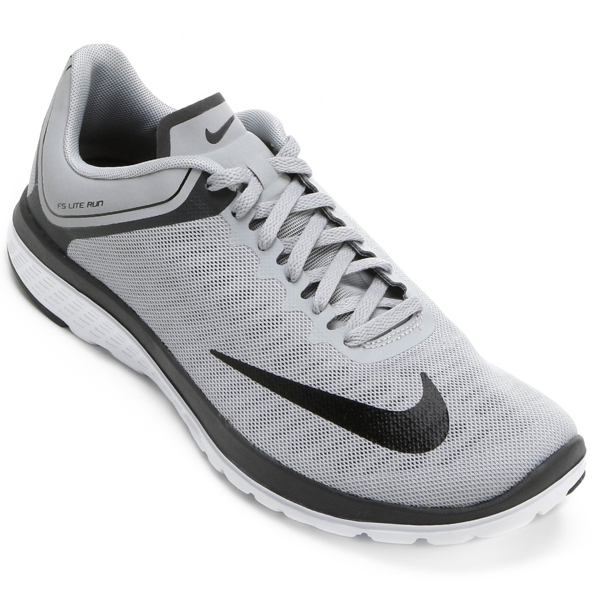Cheap Nike FS Lite Run 4 Women's Running Shoes Cool Grey/Pink