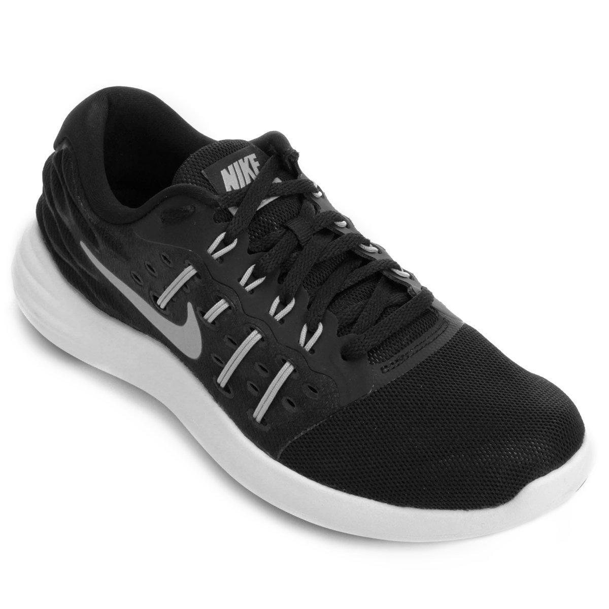 Tênis Nike Lunar Stelos Feminino - Preto e Branco - Compre Agora ... 9b4cc91885a2e