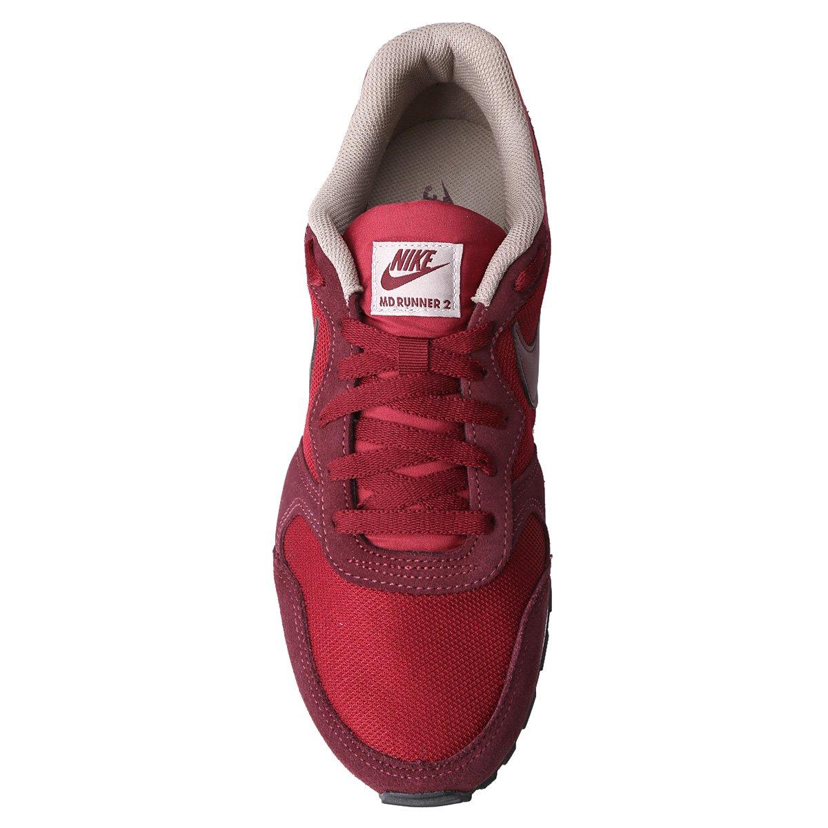 Tênis Nike Md Runner 2 Masculino - Vermelho e Vinho - Compre Agora ... 5603cee84230c