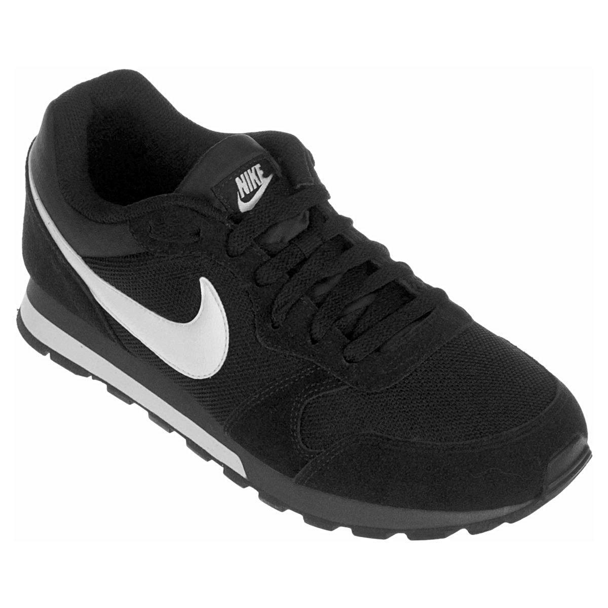 fede5842656 Tênis Nike Md Runner 2 Masculino - Preto e Branco - Compre Agora ...