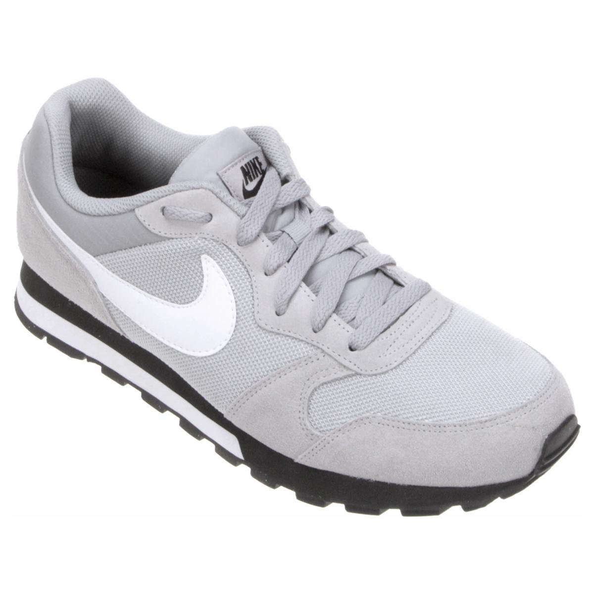 e8472a9293087 Tênis Nike Md Runner 2 Masculino - Cinza e Branco - Compre Agora ...