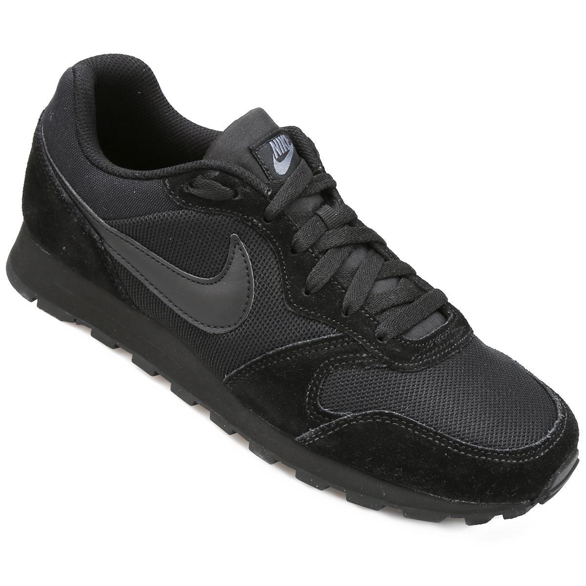 Tênis Nike Md Runner 2 Masculino - Preto e Chumbo - Compre Agora ... 30249da6c191e