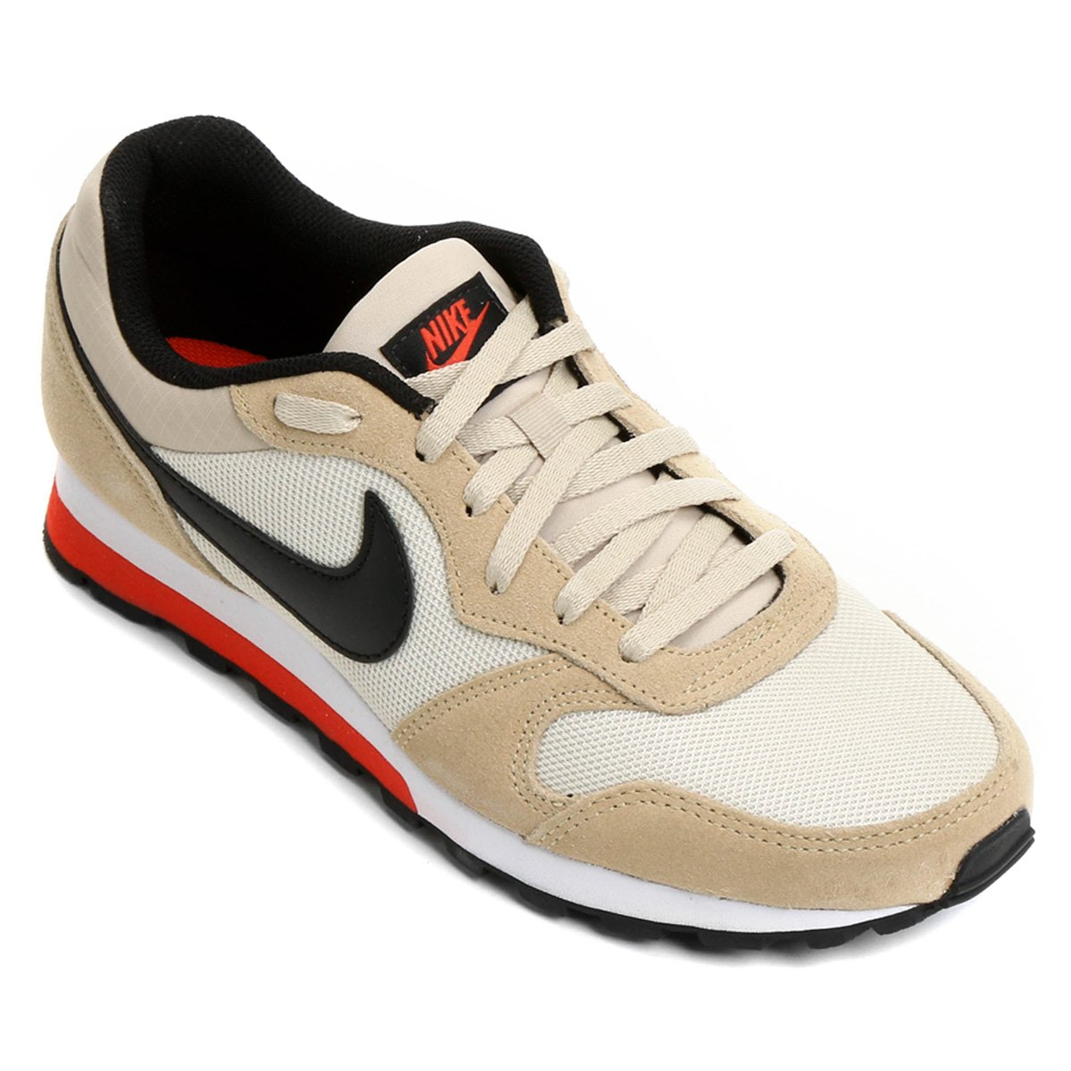 b4cdfe40ba Tênis Nike Md Runner 2 Masculino - Areia e Laranja - Compre Agora ...