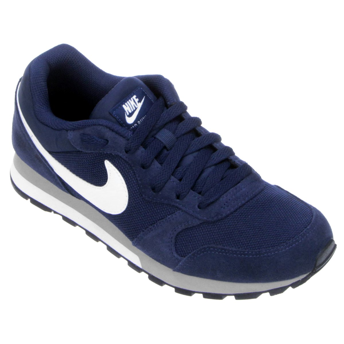 26abf2ad640 Tênis Nike Md Runner 2 Masculino - Marinho e Branco - Compre Agora ...