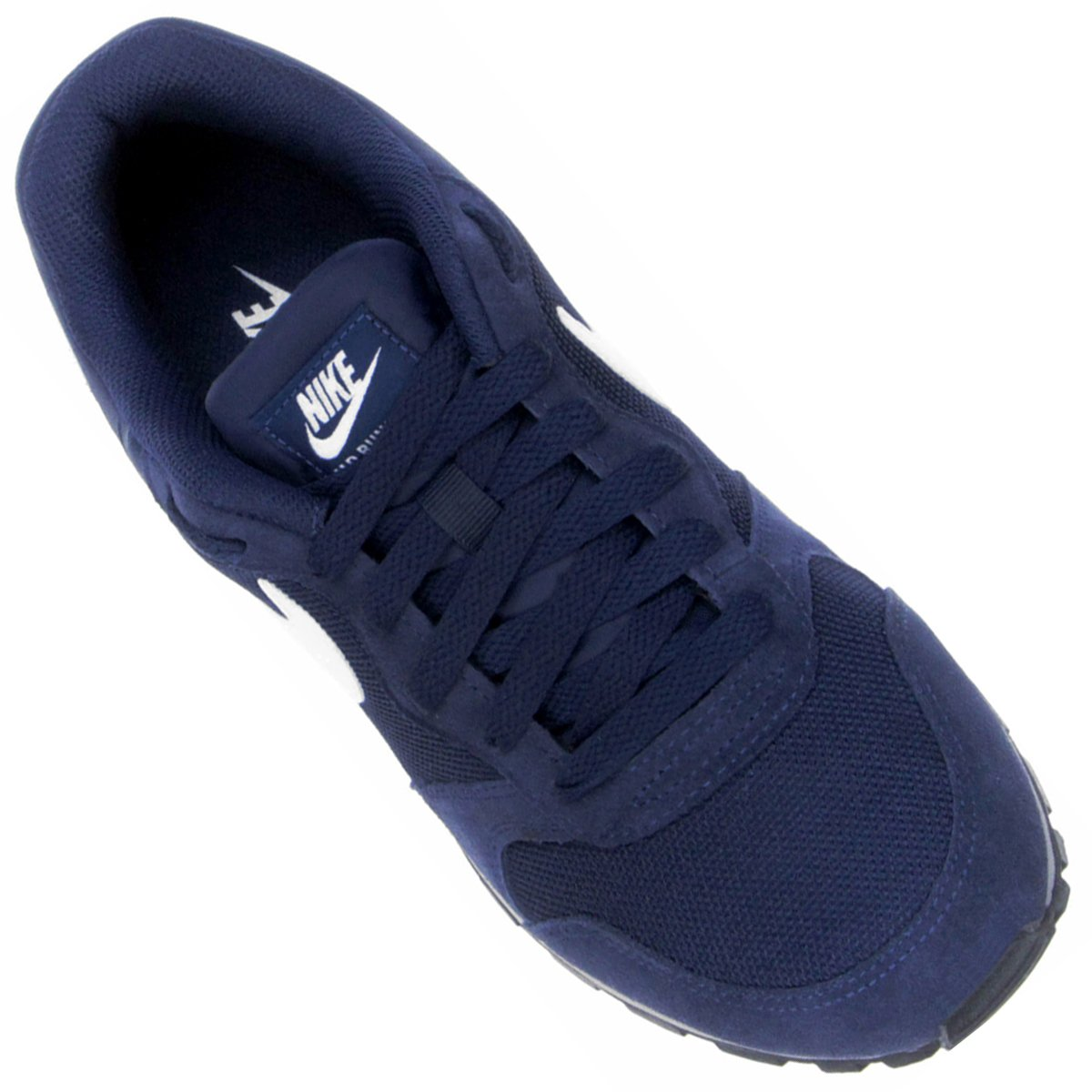 Tênis Nike Md Runner 2 Masculino - Marinho e Branco - Compre Agora ... b3bc7939b146e